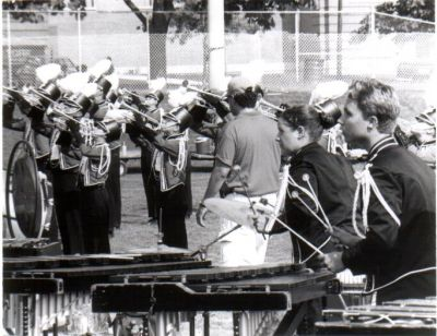 Year: 1995; Pit at Canadian Nationals with Horns (and I believe that's ex-Kavalier instructor Wayne Dillon judging brass)
